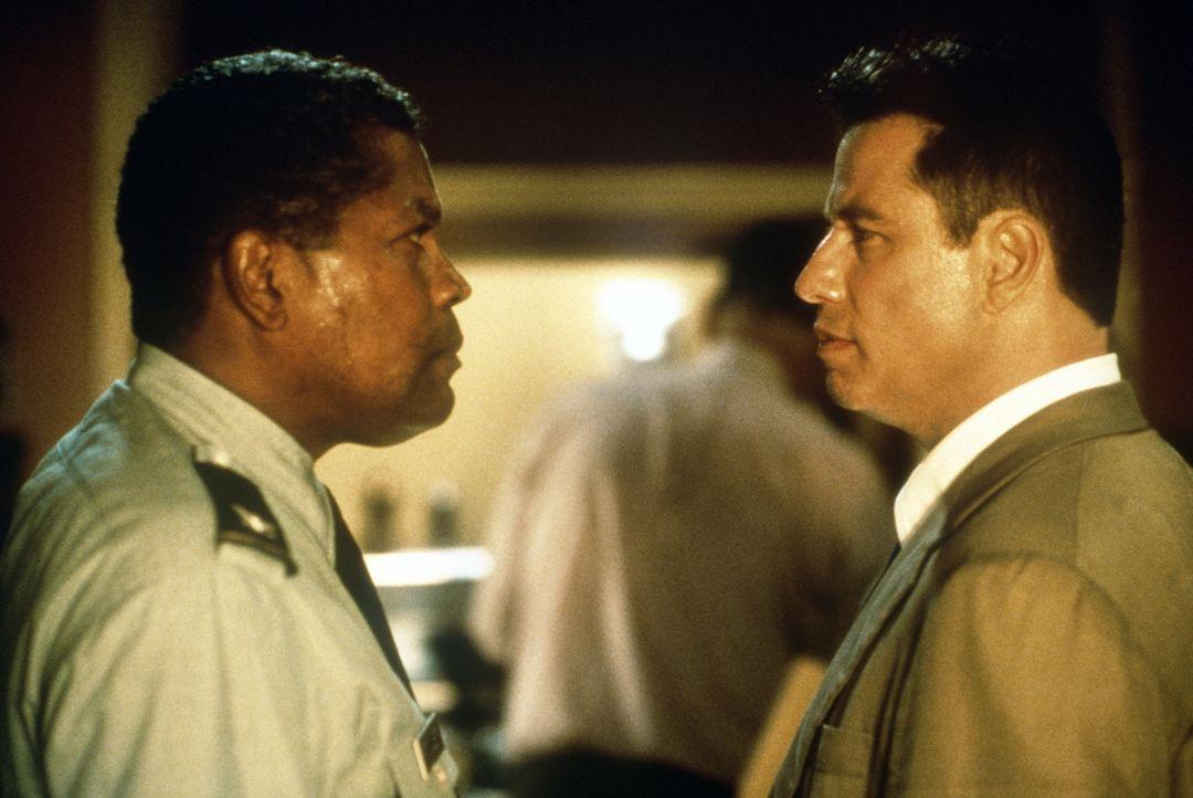 Auf der Spur eines skrupellosen Mörders: Steht George Fowler (Clarence Williams, l.) auch auf der Täterliste des unbestechlichen Cops Paul Brenner (... - Bildquelle: Paramount Pictures