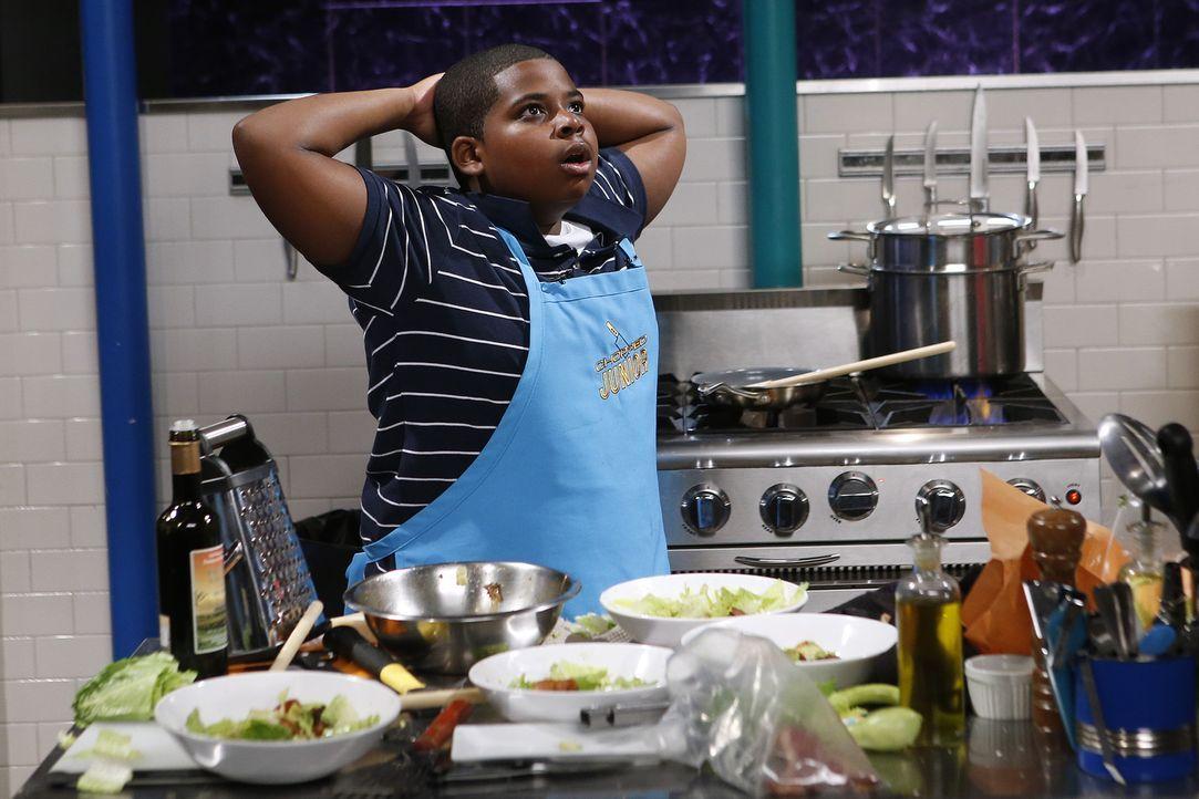Wenn Nyles aus Brooklyn die 10.000 Dollar gewinnt, möchte er damit seiner Mutter helfen. Jetzt muss er nur noch den Geschmack der Jury treffen - und... - Bildquelle: Jason DeCrow 2015, Television Food Network, G.P. All Rights Reserved