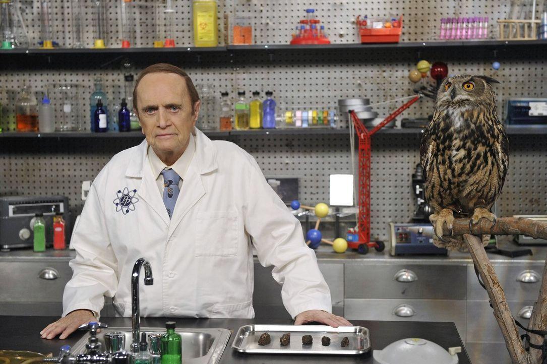 Arthur Jeffries, der als Professor Proton (Bob Newhart) der Held von Sheldons Kindheit war, ist gestorben. Eine schwere Zeit wartet auf Sheldon ... - Bildquelle: Warner Brothers