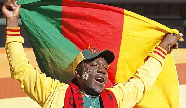 WM-Brasilien-Kamerun-Fan - Bildquelle: dpa