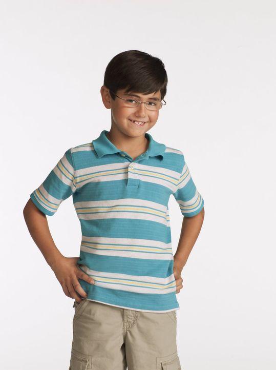 (1. Staffel) - Hat es mit seiner Mutter Christy nicht immer leicht: der achtjährige Roscoe (Blake Garrett Rosenthal) ... - Bildquelle: Warner Bros. Television