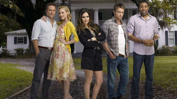 Hart of Dixie: George Tucker (Scott Porter), Lemon Breeland (Jaime King), Zoe...