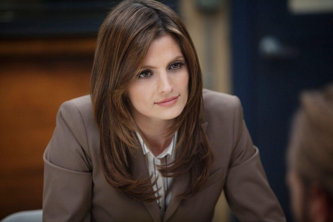 Der aktuelle Fall führt Kate Beckett (Stana Katic) zu einem Mörder, der vor vier Jahren schon einmal zugeschlagen hat ... - Bildquelle: 2010 American Broadcasting Companies, Inc. All rights reserved.