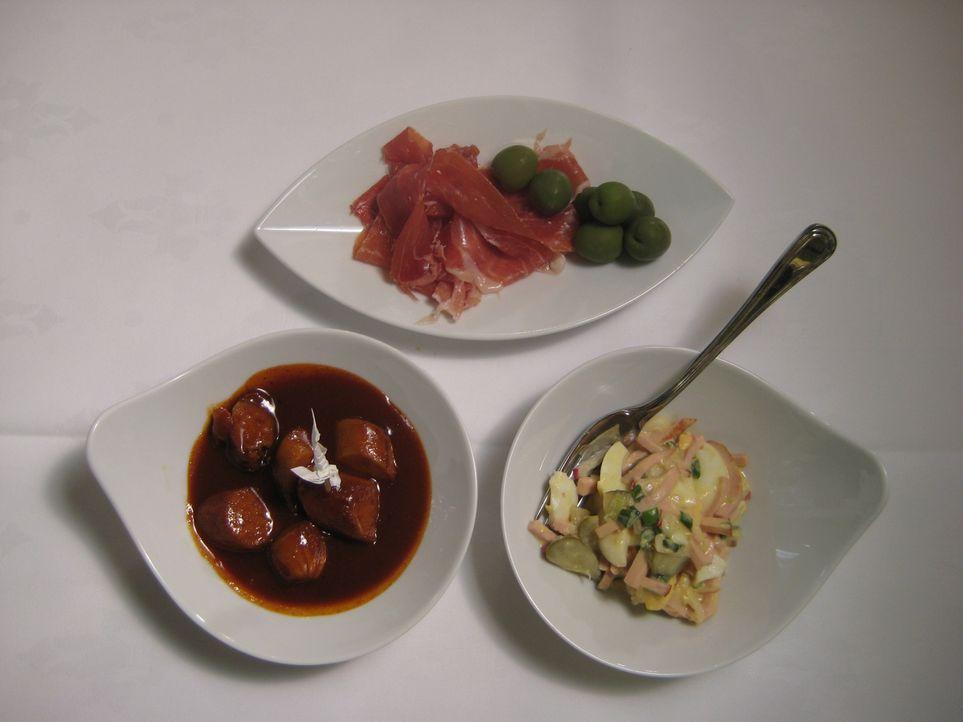 """So sollte das Essen im """"Friedels"""" zukünftig aussehen. - Bildquelle: kabel eins"""