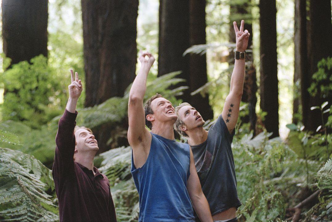 In ihrer Kindheit waren (v.l.n.r.) Dan (Seth Green), Jerry (Matthew Lillard), Tom (Dax Shepard) und Billy beste Freunde. Nach Jahren treffen Dan, Je... - Bildquelle: Paramount Pictures