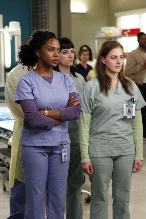 Das schlechte Gewissen, April nichts von der Diagnose des Ultraschalls erzählt zu haben, nagt an Stephanie (Jerrika Hinton) ... - Bildquelle: ABC Studios