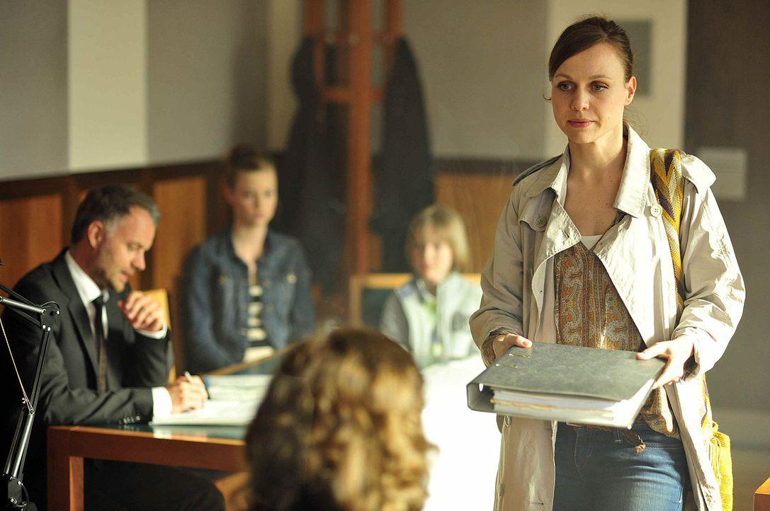 Dank Robin Hood kann Marion (Nadja Becker) nicht nur im Sorgerechtsstreit punkten ... - Bildquelle: Oliver Feist SAt.1