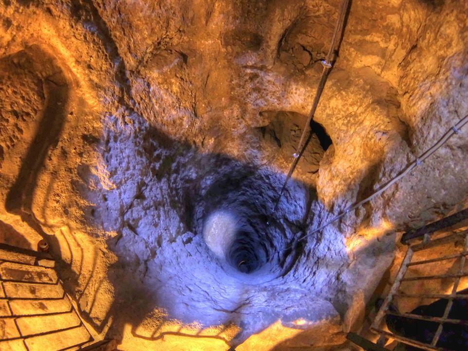 Unterirdische Stadt - Bildquelle: Wikipedia