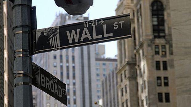 Die Wall Street in Manhattan, New York