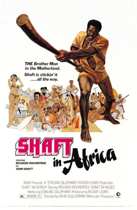 SHAFT IN AFRIKA - Plakatmotiv - Bildquelle: Warner Bros. Television