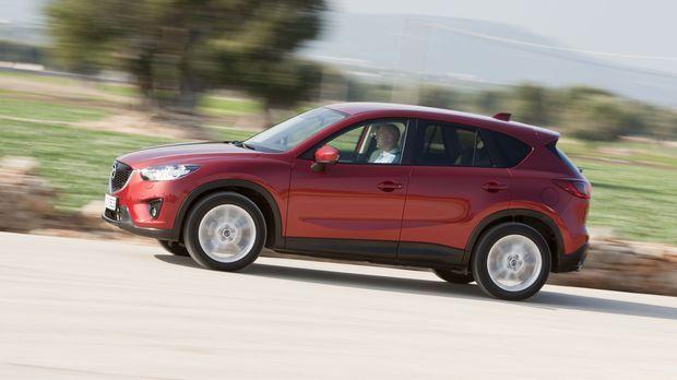 Er will VW Tiguan & Co. kräftig einheizen: der neue Mazda CX-5. © kabel eins