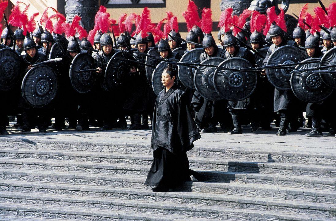 China, vor über 2000 Jahren: König Qin will seinen Anspruch auf die Herrschaft über ganz China gegen seine Konkurrenten durchsetzen und Kaiser we... - Bildquelle: Constantin Film