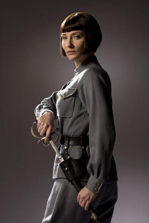 Durch einen mysteriösen Kristallschädel erhofft sich die skrupellose russische Agentin Irina Spalko (Cate Blanchett) eine unermesslich mächtige W... - Bildquelle: David James Lucasfilm Ltd. & TM. All Rights Reserved