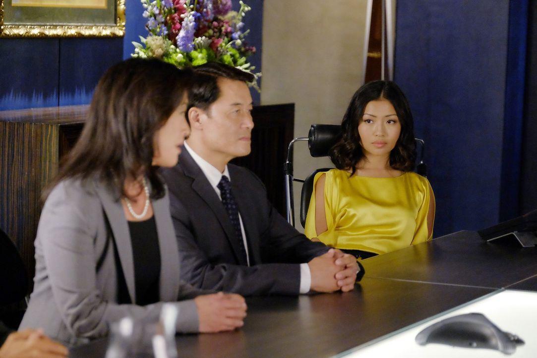 Um den Film in China vertreiben zu können, soll eine chinesische Schauspielerin (Brianne Tju) Tangeys Rolle übernehmen - lassen sich Nina und das St... - Bildquelle: Warner Bros.