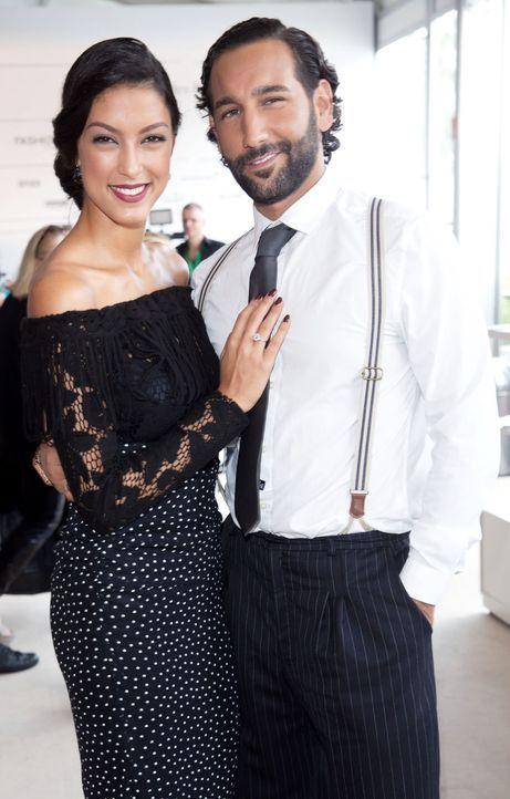 MBFW-14-07-10-Rebecca-Mir-Massimo-Sinato-dpa - Bildquelle: dpa