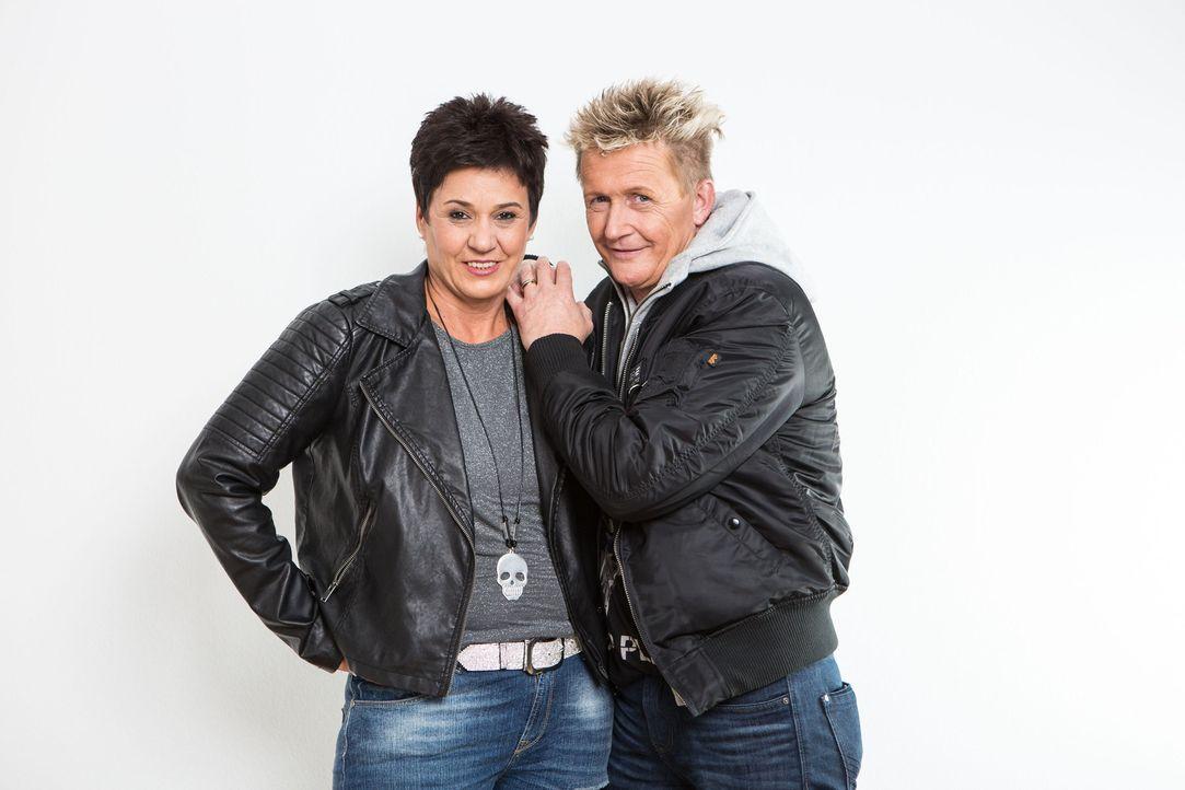 Das Ermittler-Ehepaar Miriam (l.) und Stefan Wolloscheck (r.) hilft immer dann, wenn Menschen nicht mehr weiter wissen ...