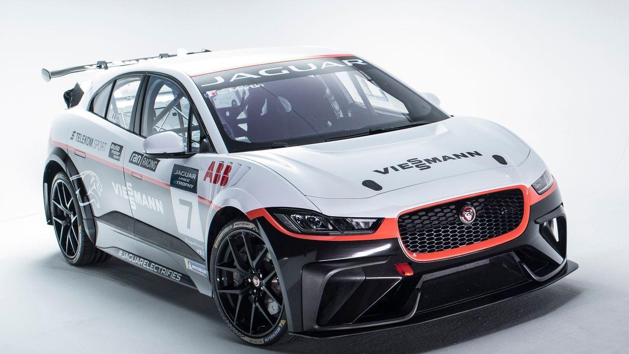 I-PACE eTrophy: Das ist das Auto des Team Germany - Bildquelle: Jaguar Land Rover_2018