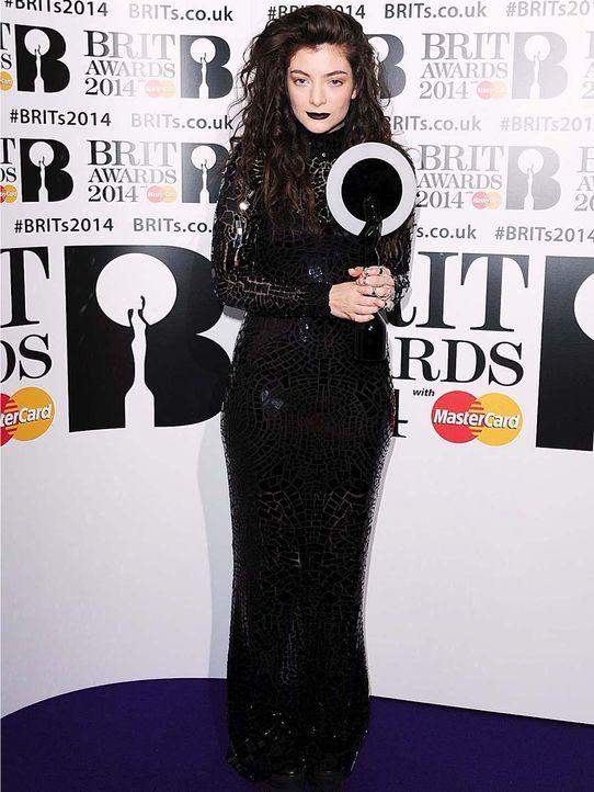 Brit-Awards-Lorde-14-02-19-dpa - Bildquelle: dpa