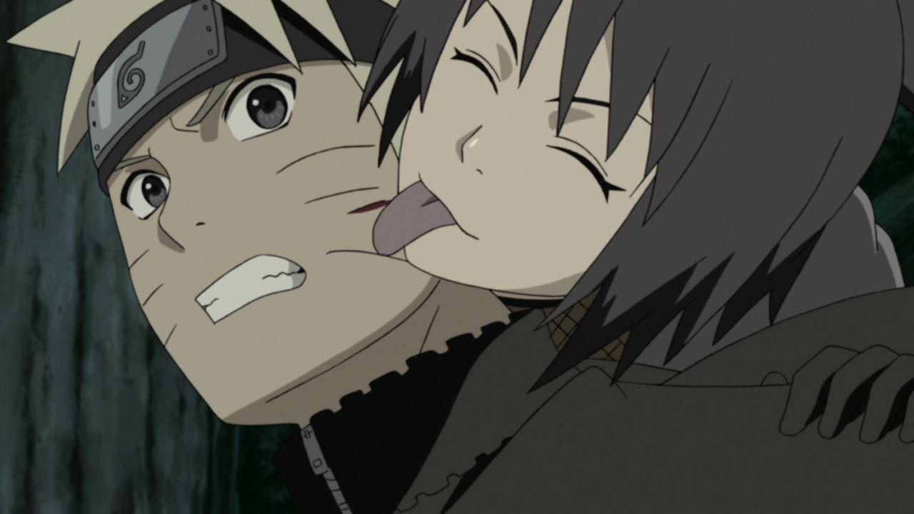 (v.l.n.r.) Naruto Uzumaki; Shizune - Bildquelle: 2002 MASASHI KISHIMOTO / 2007 SHIPPUDEN