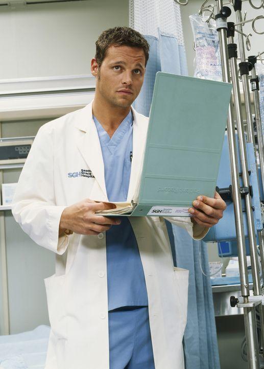 (1. Staffel) - Nach vielen Jahren des Studiums ist es endlich soweit: Dr. Alex Karev (Justin Chambers) beginnt seine Tätigkeit als Assistenzarzt im... - Bildquelle: Touchstone Television