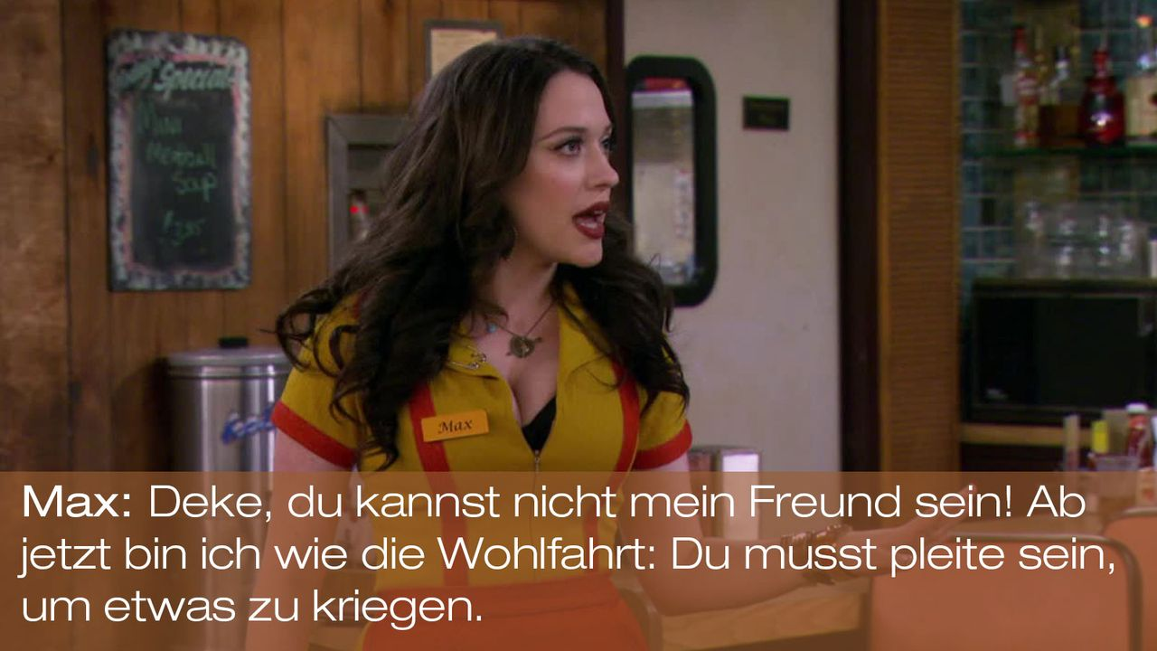 2-Broke-Girls---0316--Zitat-02 - Bildquelle: Warner Brothers