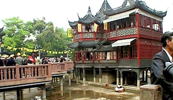 Shanghai Sightseeing: Yu-Yuan-Teehaus - Bildquelle: dpa