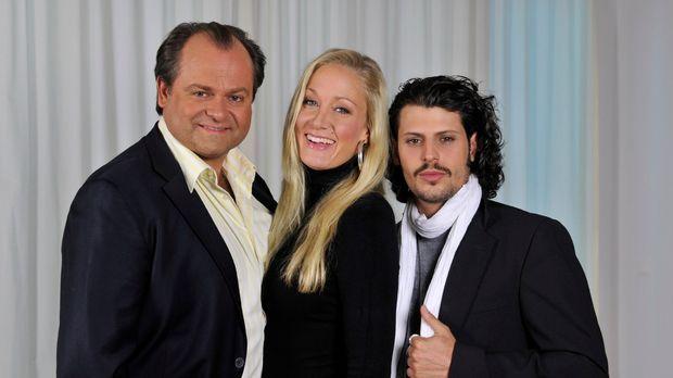 v.l.n.r.: Markus Majowski, Janine Kunze und Manuel Cortez sind