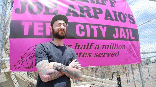 Reporter Oliver Plöger blickt hinter die Kulissen des Tent City Jail in Arizo...