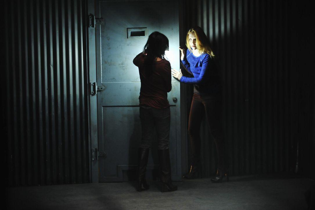 Die Entführer haben es eigentlich auf Sara El-Masri (Karen David, l.), die Tochter eines reichen Geschäftsmannes, abgesehen, doch ehe sich Alexis... - Bildquelle: 2013 American Broadcasting Companies, Inc. All rights reserved.