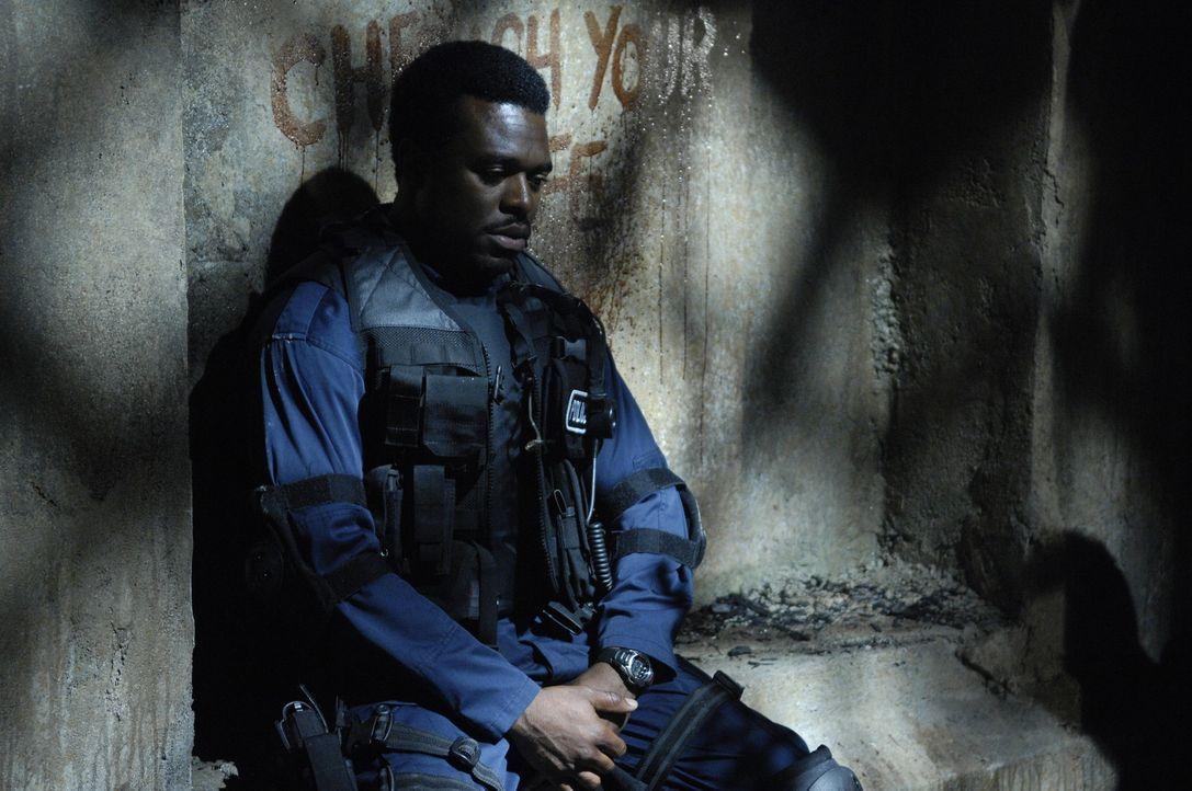 Zuerst muss der Cop Rigg (Lyriq Bent) erkennen, dass der Jigsaw noch immer seine Spielchen treibt, dann entdeckt er die Leiche seiner Kollegin Detec... - Bildquelle: 2007 Lionsgate, Twisted Pictures