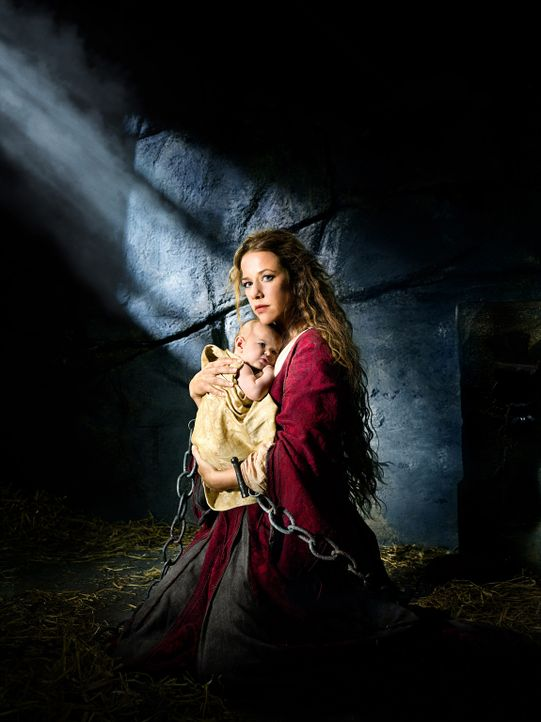 """""""DAS VERMÄCHTNIS DER WANDERHURE"""" mit Alexandra Neldel - Bildquelle: Nela König SAT.1"""