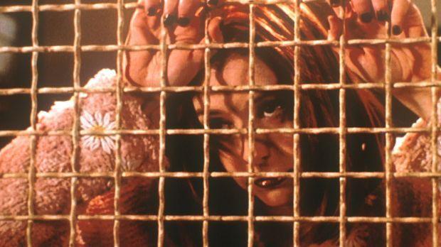 Der Vampir (Alyson Hannigan), der wie Willow aussieht, wartet darauf, freigel...