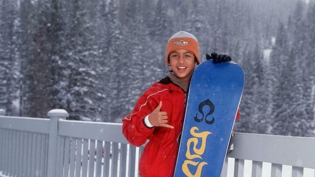 Neue Leidenschaft: Johnny (Brandon Baker) wechselt das Surfbrett mit dem Snow...