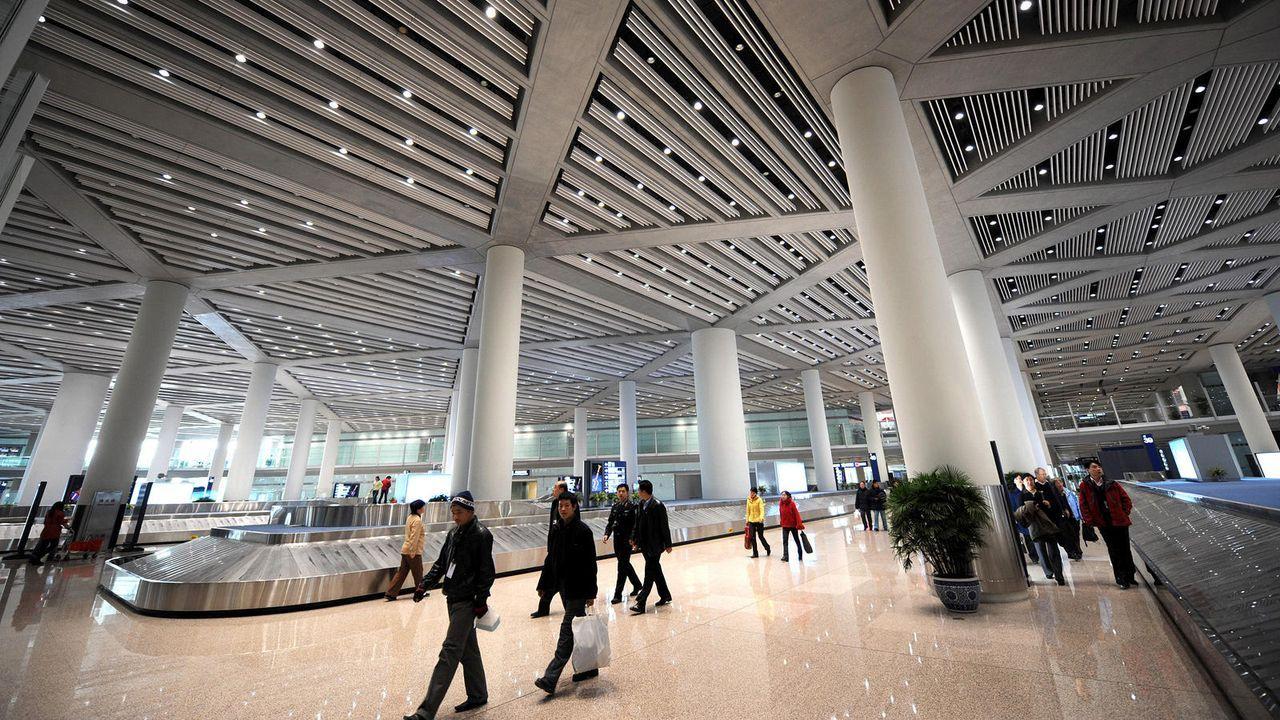 Beijing Capital International Airport - Bildquelle: AFP / GOH CHAI HIN
