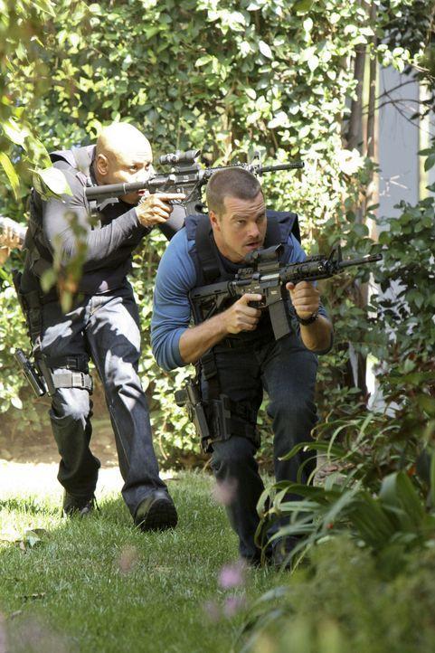 Das Team von NCIS.LA führt seine Ermittlungen zum Tod eines CIA-Agenten fort und stößt dabei auf einen gefährlichen Kreis russischer Superspione... - Bildquelle: CBS Studios Inc. All Rights Reserved.