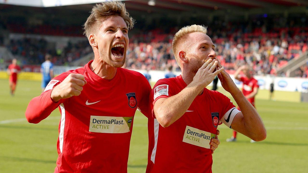 1. FC Heidenheim (6. Platz, 30 Punkte) - Bildquelle: imago/Eibner