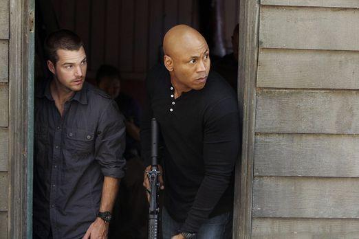 Undercover ermitteln Special Agent G. Callen (Chris O'Donnell, l.) und Specia...
