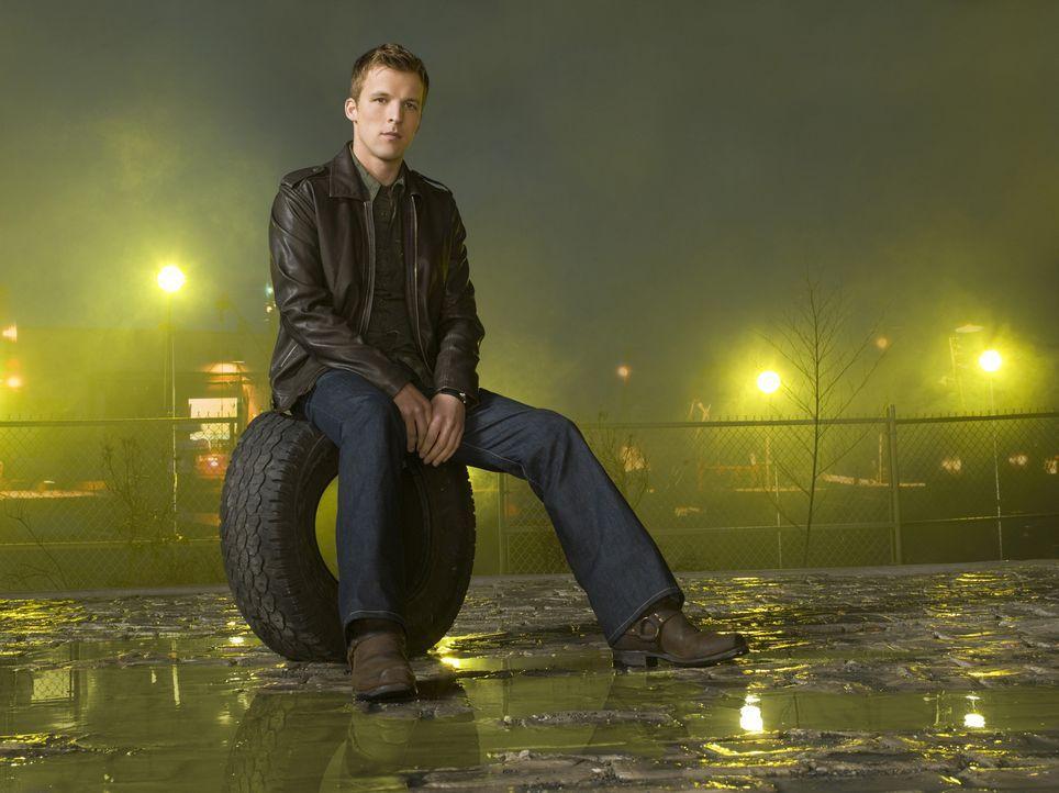 (4. Staffel) - Durch die Einnahme von Promicin erscheint Kyle Baldwin (Chad Faust) immer wieder eine junge Frau namens Cassie, die ihn anleitet und... - Bildquelle: Viacom Productions Inc.