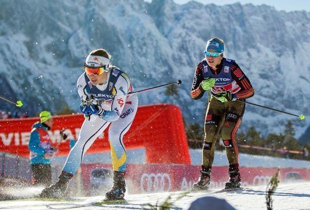 Sandra Ringwald (r.) hat die Sprint-Quali überstanden