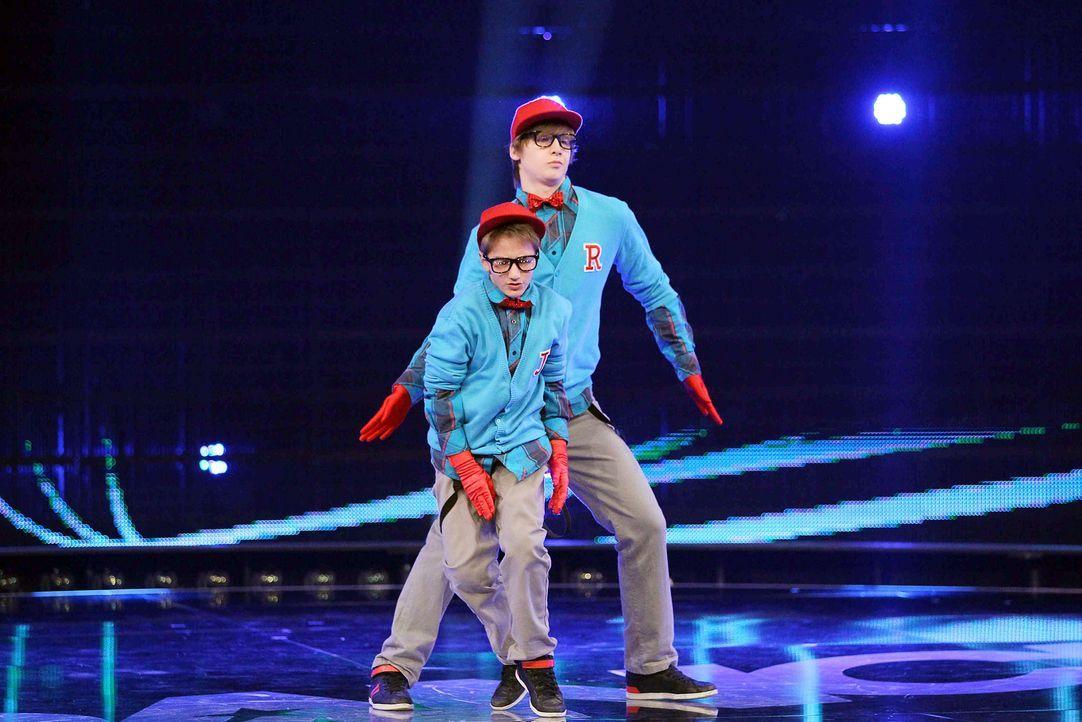 Got-To-Dance-Ricardo-und-Janik-04-SAT1-ProSieben-Guido-Engels - Bildquelle: SAT.1/ProSieben/Guido Engels
