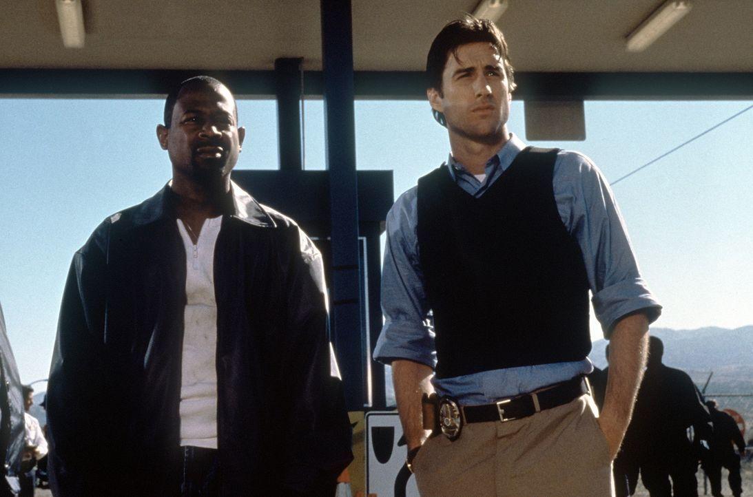 Auch Neueinsteiger Carlson (Luke Wilson, r.) ist nicht klar, aus welchen Gründen sein Kollege Miles (Martin Lawrence, l.) bei der Polizei arbeitet .... - Bildquelle: Columbia Pictures