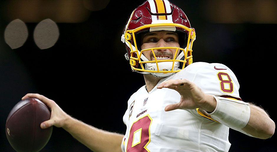 Kirk Cousins (Washington Redskins) - Bildquelle: 2017 Getty Images