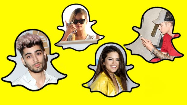 die snapchat namen der stars so hei en justin bieber und co. Black Bedroom Furniture Sets. Home Design Ideas