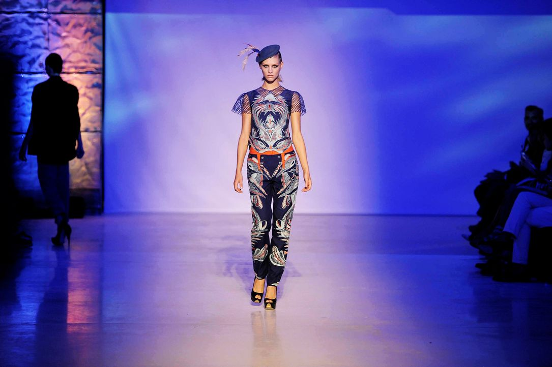 GNTM-Stf09-Epi02-Fashion-Show-31-ProSieben-Oliver-S - Bildquelle: ProSieben/Oliver S.