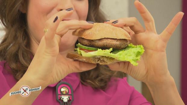 kochtipp und rezept veggie burger mit kidneybohnen. Black Bedroom Furniture Sets. Home Design Ideas
