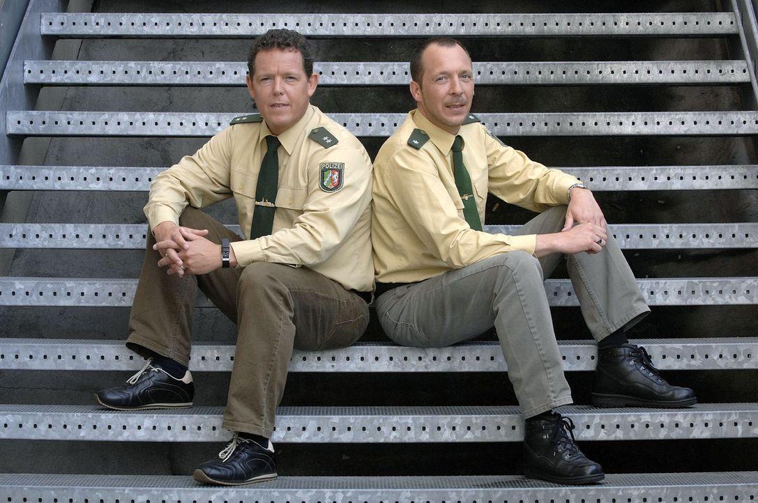 """In """"Toto & Harry - Die Zwei vom Polizeirevier"""" geht es Ladendieben an den Kragen, sturztrunkenen Autofahrern an den Führerschein und den Zuschauern..."""