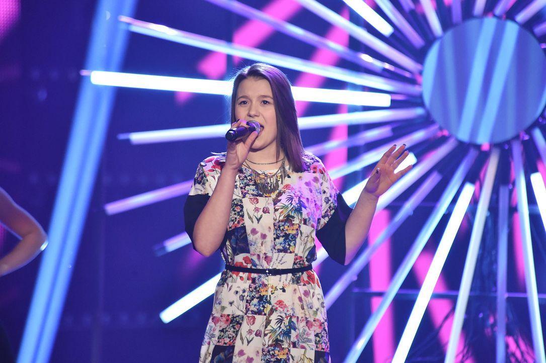 The-Voice-Kids-Stf03-Finale-Probe-25-Antonia-SAT1-Andre-Kowalski - Bildquelle: SAT.1/ Andre Kowalski