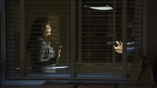 Als Baez (Marisa Ramirez) dem offenbar tiefunglücklichen und verwirrten Mann...