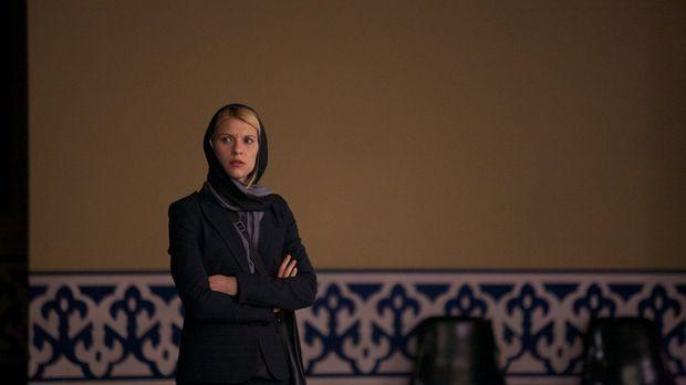 Nur Sekunden verhindern, dass Carrie (Claire Danes) eine aussagekräftige Beob...