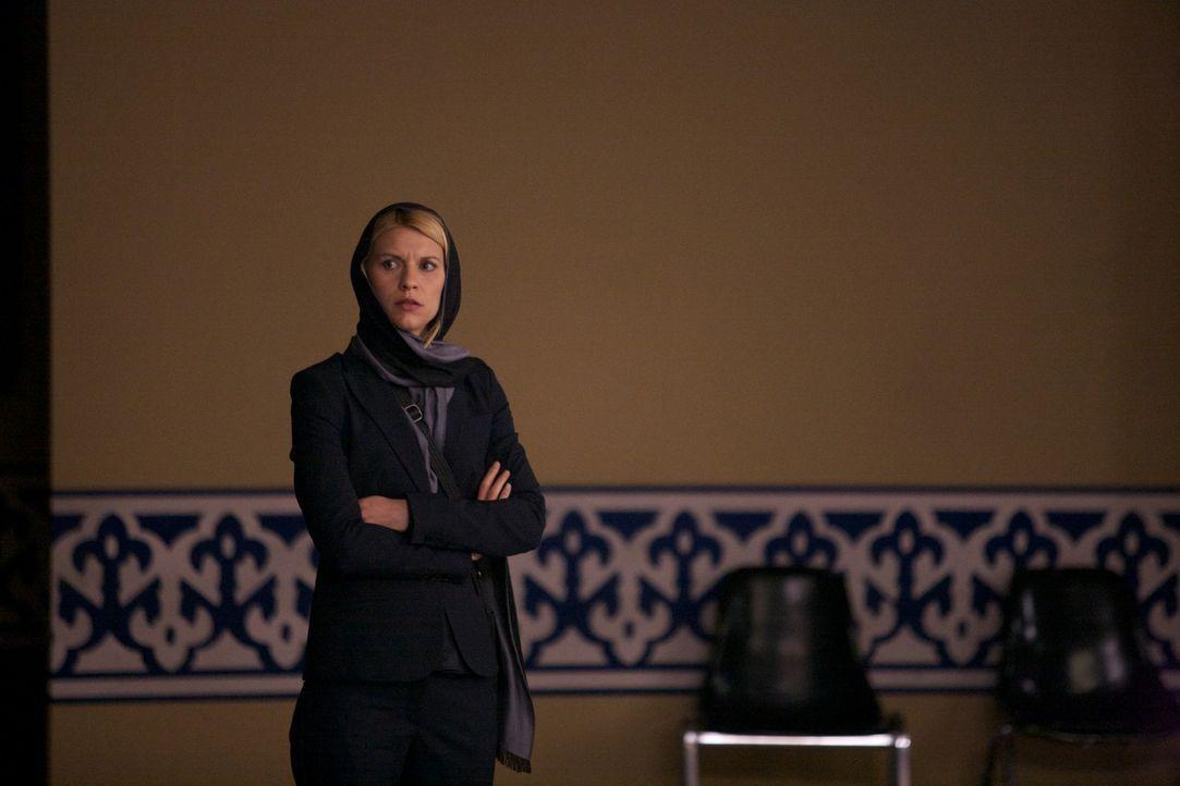 Nur Sekunden verhindern, dass Carrie (Claire Danes) eine aussagekräftige Beobachtung machen kann ... - Bildquelle: 20th Century Fox International Television